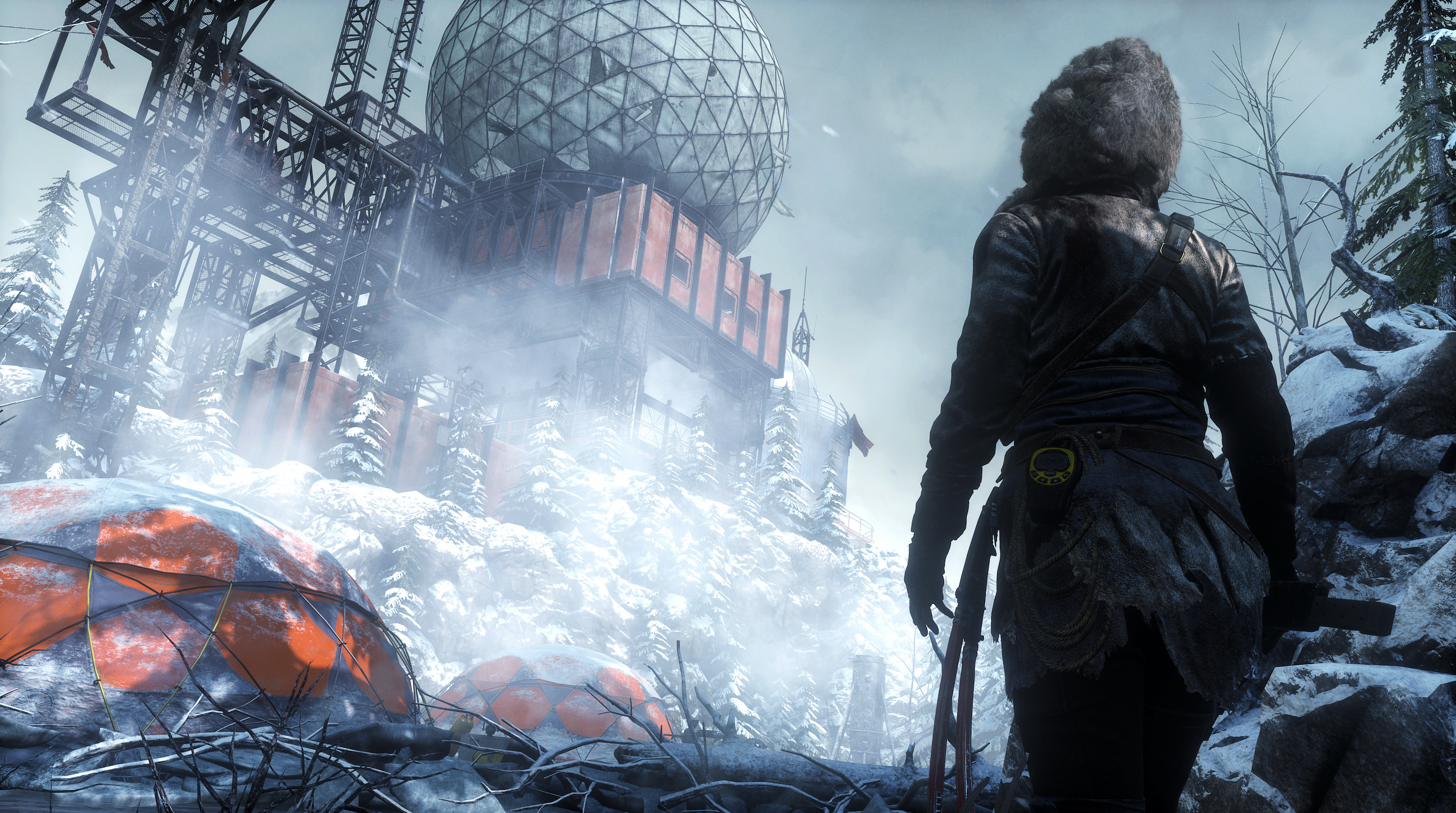 Rise of the Tomb Raider – PS4 Pro Tech Video